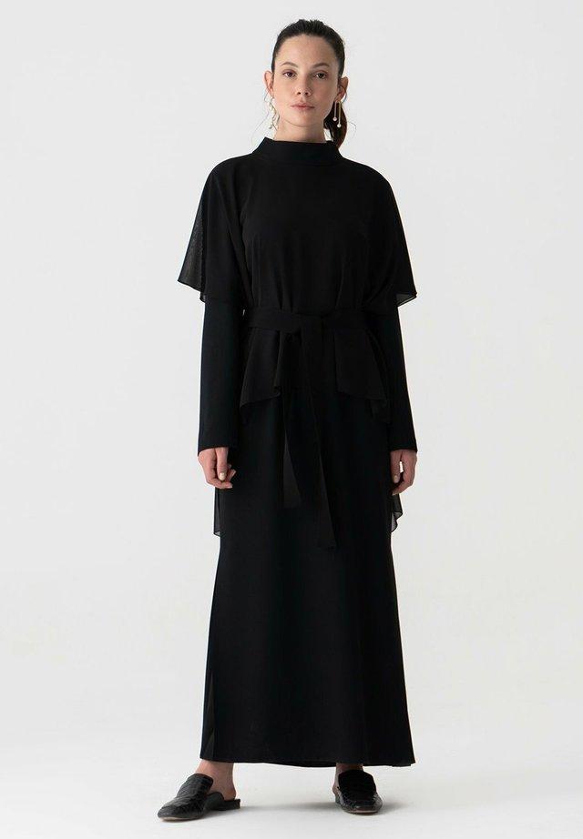 TOUCHÉ PRIVÉ CHIFFON - Maxi-jurk - black
