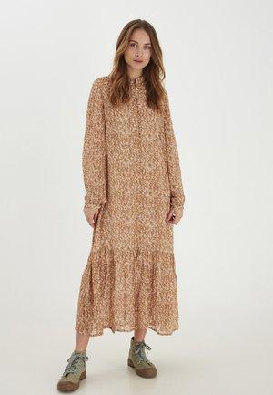 Korte jurk - tannin printed
