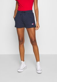 Tommy Jeans - BADGE - Shorts - twilight navy - 0