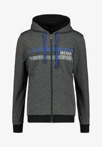 BOSS - AUTHENTIC  - Hoodie met rits - anthrazit - 0