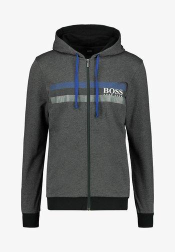AUTHENTIC  - Zip-up hoodie - anthrazit