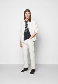 The Kooples - OUTERWEAR - Denim jacket - off white - 1
