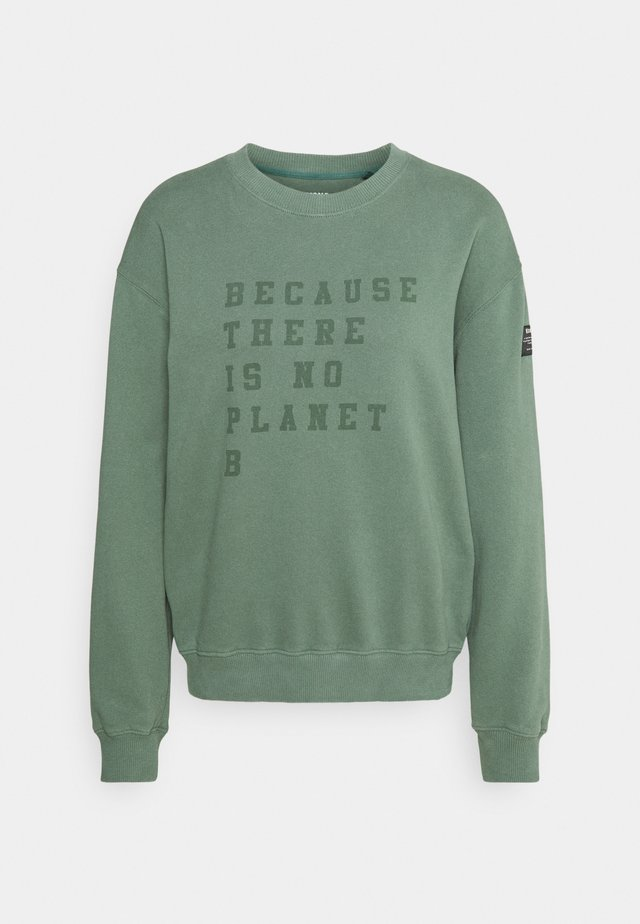 CERVINO WOMAN - Sweatshirt - green shadow