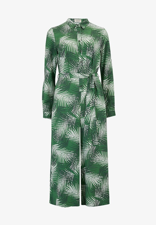 SIENNA SHADY PALM - Jumpsuit - green