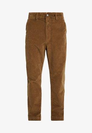 P-FRANKOS TROUSERS - Straight leg jeans - brown