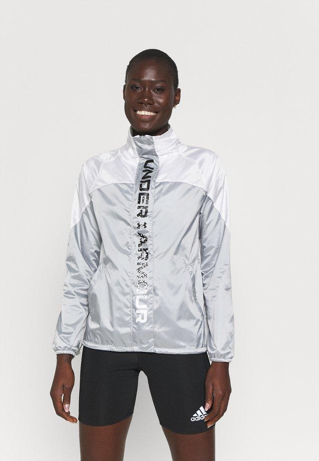 RECOVER SHINE  - Sportovní bunda - mod gray