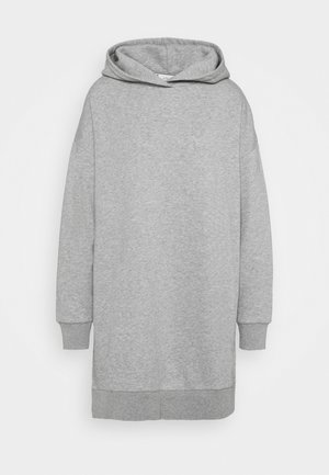 Hoodie - grey heather melange