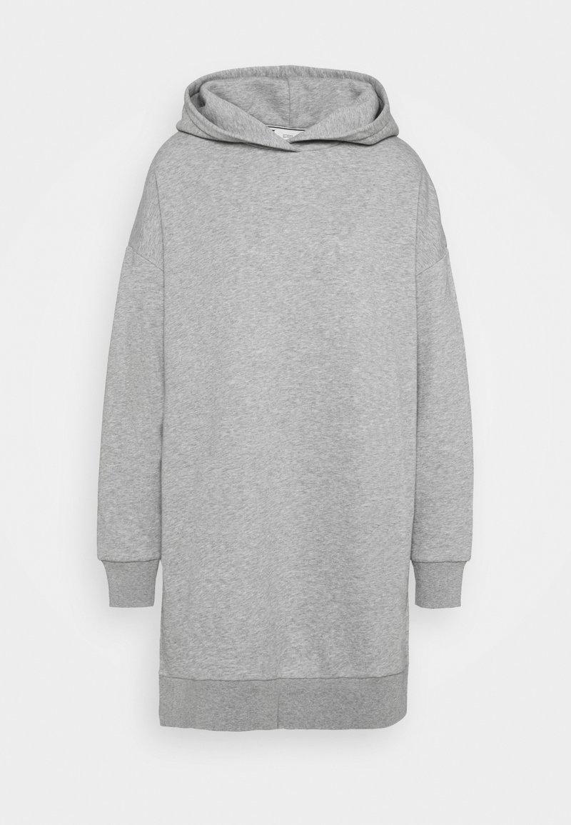 CLOSED - Hoodie - grey heather melange