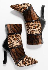 BEBO - LAVETA - High heeled ankle boots - black - 3