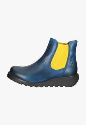 Kotníková obuv - royal blue mustard elastic