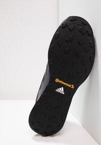 adidas Performance - TERREX CMTK GORE TEX - Trail running shoes - core black/grey three - 4