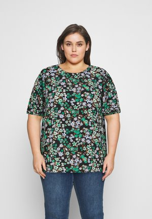 CARANEMONY TOP - T-shirts med print - black