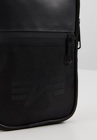 Alpha Industries - UTILITY BAG - Across body bag - black - 7