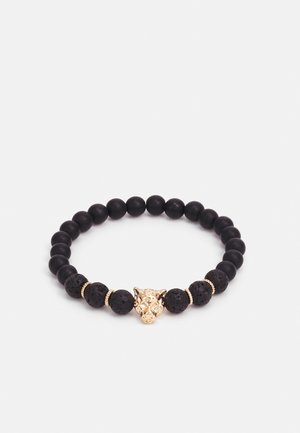 ANIMAL HEAD BRACELET - Bransoletka - black
