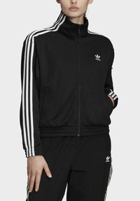 adidas Originals - TRACK TOP - Trainingsjacke - black - 4