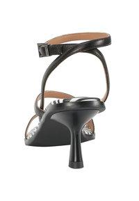 Ekonika - T-bar sandals - zebra-black - 3