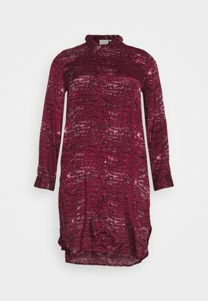 KCSILLE DRESS - Shirt dress - port royale tiger print