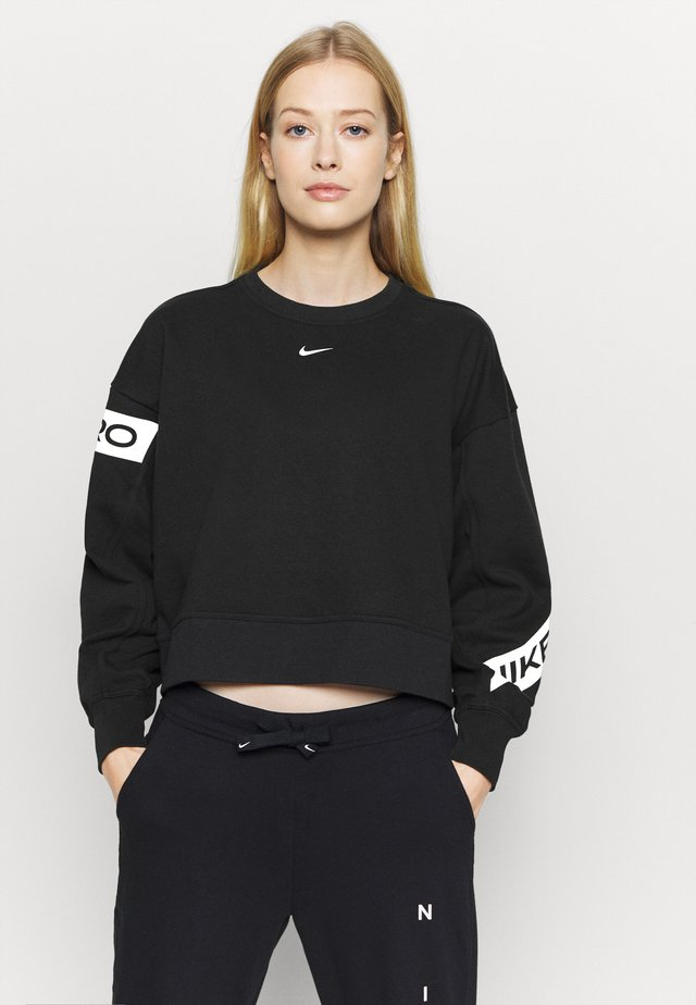 GET FIT - Sweater - black/white