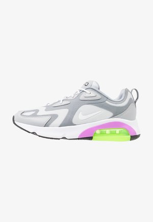 AIR MAX 200 - Sneakers - pure platinum/white/cool grey/wolf grey/atomic purple/electric green