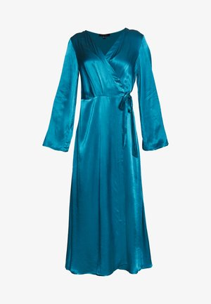 WRAP LONG DRESS - Gallakjole - medium blue
