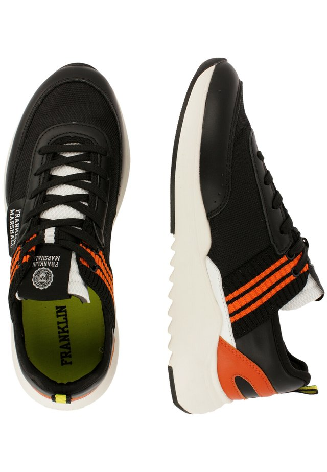 Sneakers laag - blk-orng