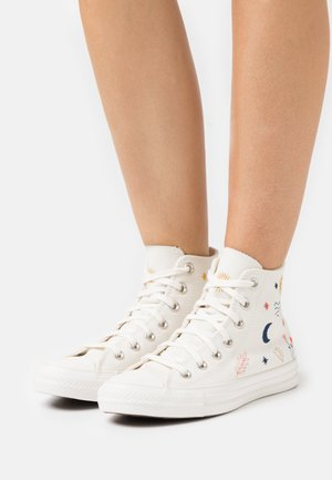 CHUCK TAYLOR ALL STAR - Høye joggesko - egret/vintage white/black