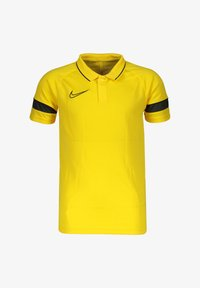 Nike Performance - ACADEMY 21  - Sports shirt - gelbschwarzgrau - 0
