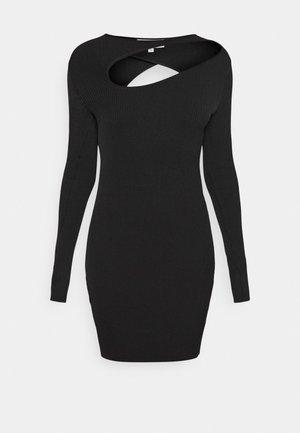 HERALDIC HERITAGE - Jumper dress - black