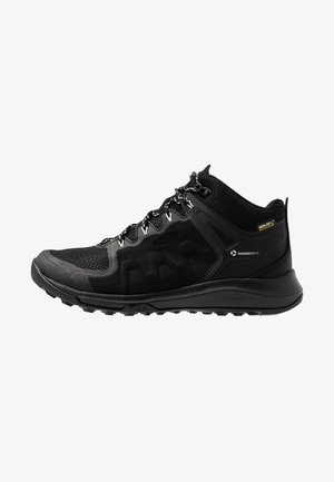 EXPLORE MID WP - Hiking shoes - black/star white
