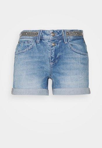ROMIE - Denim shorts - brasilia