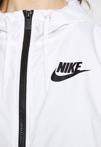 Nike Sportswear - Summer jacket - white/black - 4