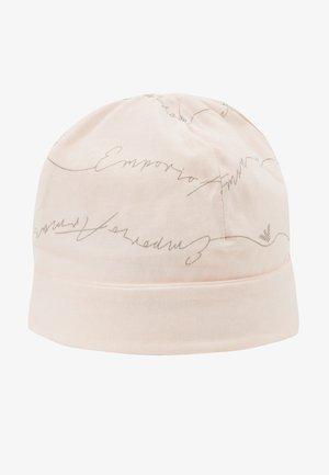 CUFFIA NEWBORN - Čepice - rosa chiara