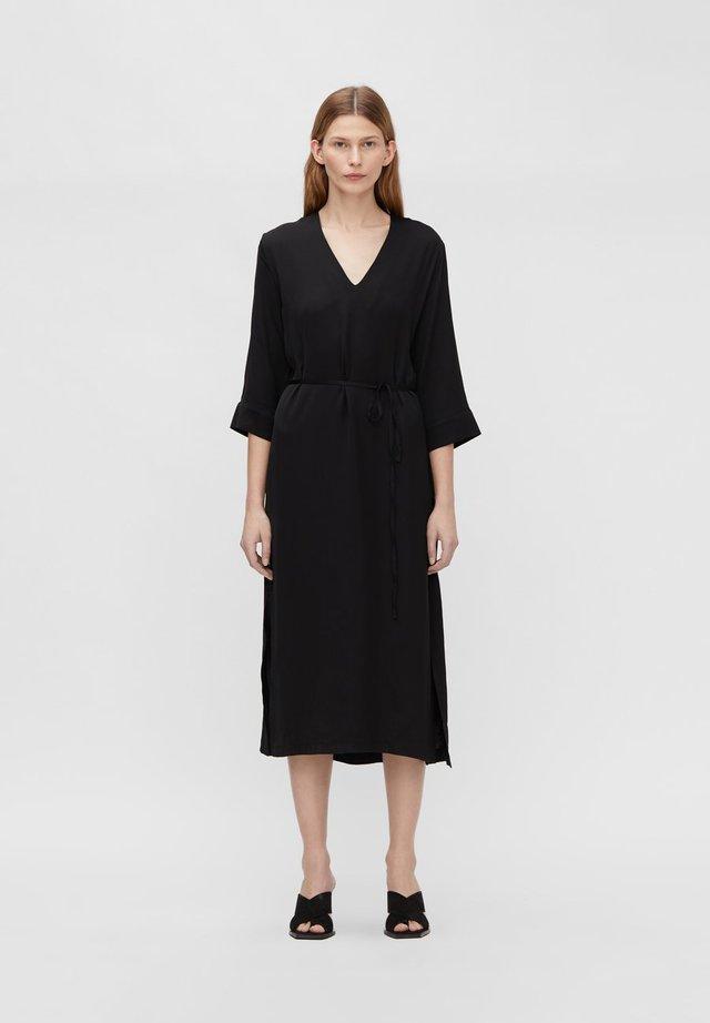 SASH - Day dress - black