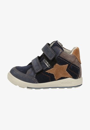 Touch-strap shoes - nautic/kastanie 172