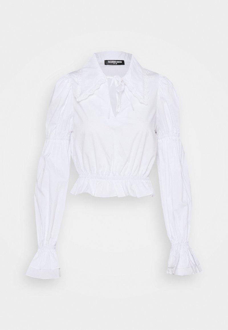 Fashion Union - PRIMROSE - Bluser - white