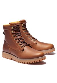 Timberland - JACKSON'S LANDING PT WP - Lace-up boots - rust full grain - 1