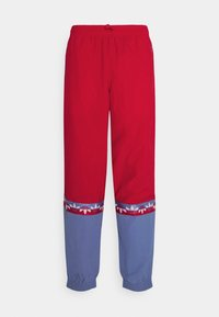 adidas Originals - SLICE TREFOIL ADICOLOR PRIMEGREEN ORIGINALS SLIM TRACK - Pantalones deportivos - scarlet/crew blue - 4