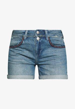 ROMIE - Denim shorts - blue denim
