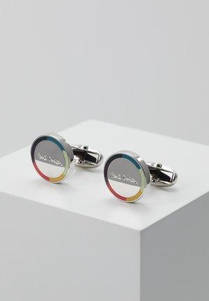 CUFFLINK LOGO - Cufflinks - silver-coloured