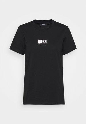 T-SILY-SMALLLOGO - Print T-shirt - black