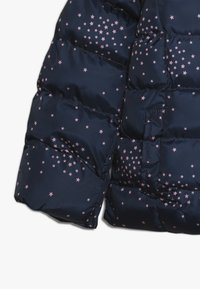 Lemon Beret - SMALL GIRLS JACKET - Winter jacket - dark blue/light pink - 3