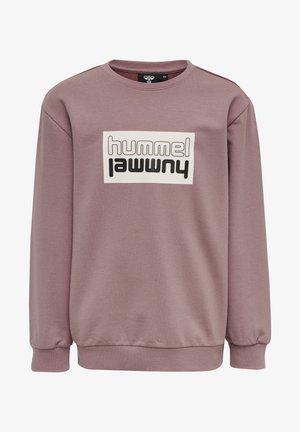 DUO UNISEX - Sweater - twilight mauve