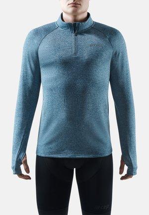 Long sleeved top - blue melange