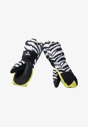 Gants - zebra white