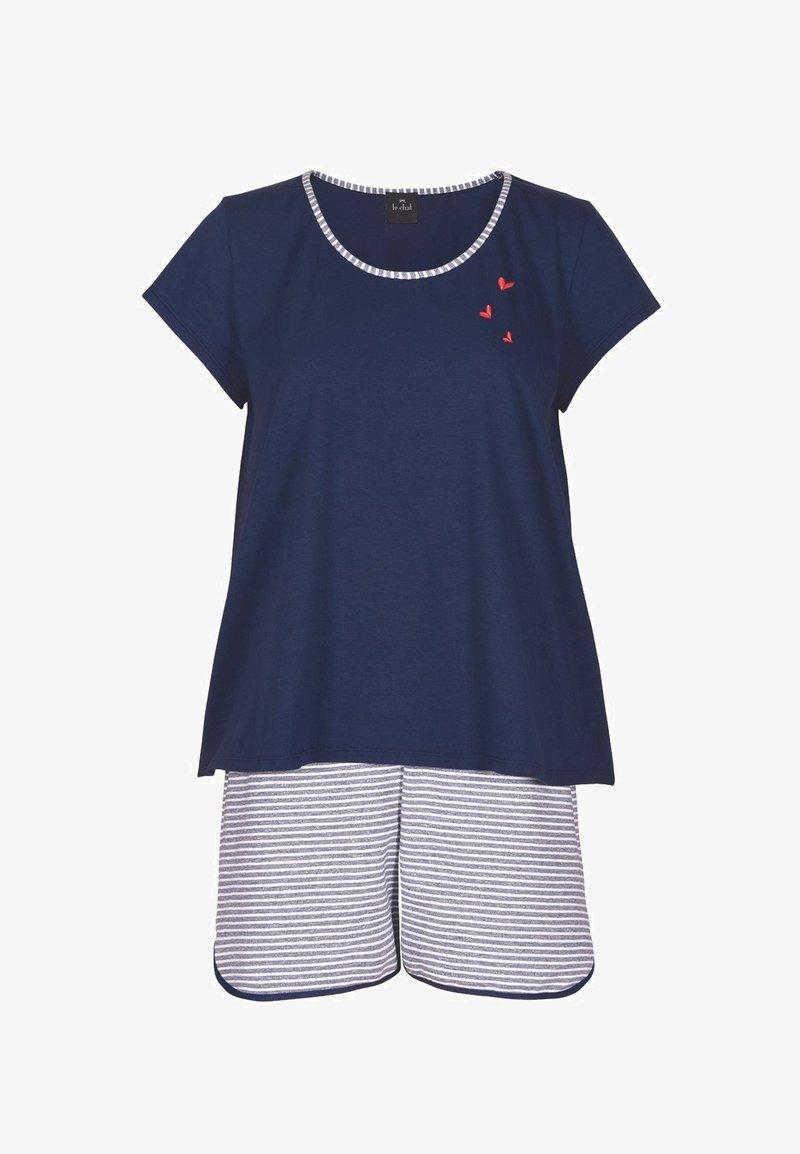 Lingerie le chat - SET - Pyjama - bleu blanc