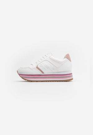 HERA - Sneaker low - white/rose