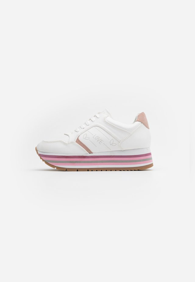 HERA - Sneakers laag - white/rose