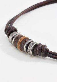 Fossil - Necklace - dunkelbraun - 3
