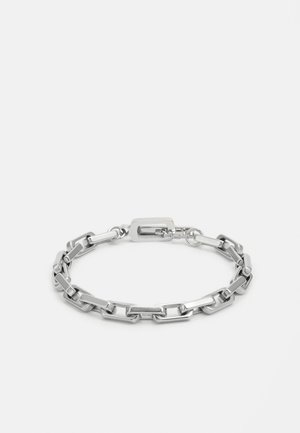 URBAN LEGEND LOGO OVAL CHAIN  - Bracelet - silver-coloured