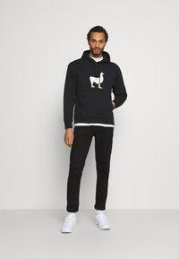 Nike SB - UNISEX - Sweatshirt - black/coconut milk - 1